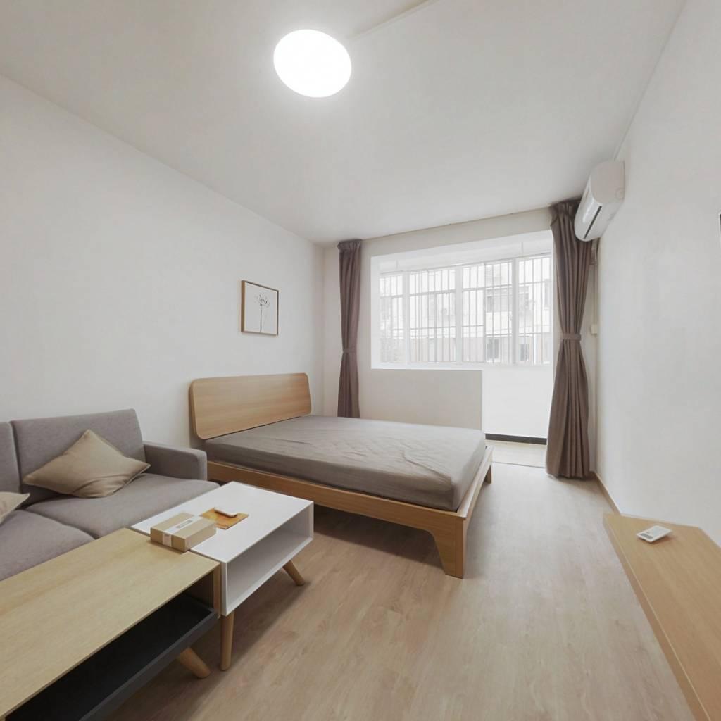 整租·长虹小区 1室1厅 南卧室图