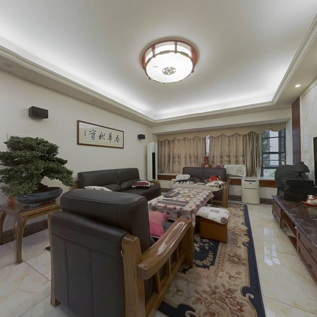 低层安静看花园,新中式装修风格,诚意出售大三房
