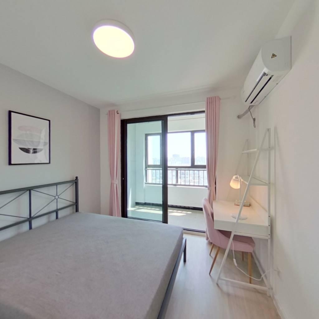 合租·益晖新苑 3室1厅 南卧室图