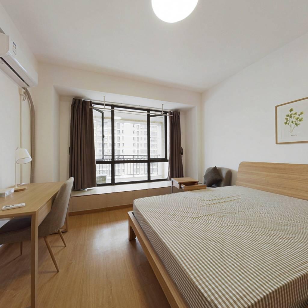 合租·丽晶湾 4室1厅 北卧室图