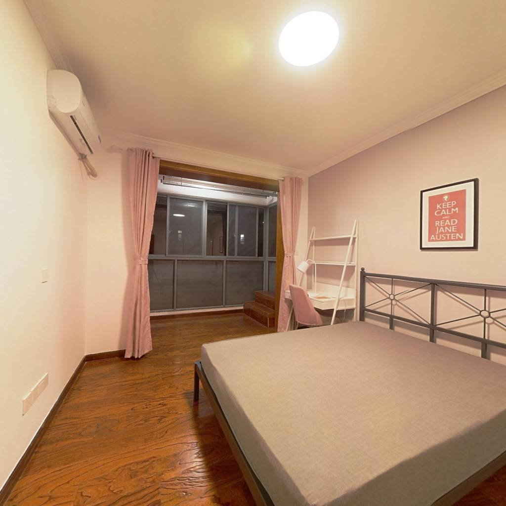合租·新城尚景 4室1厅 西卧室图