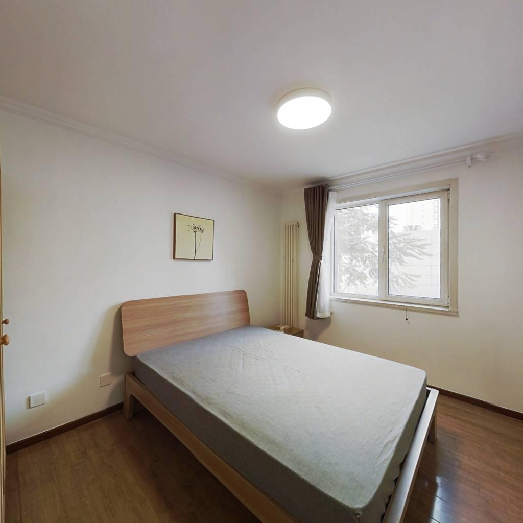 整租·首城国际B区 2室1厅 东北卧室图