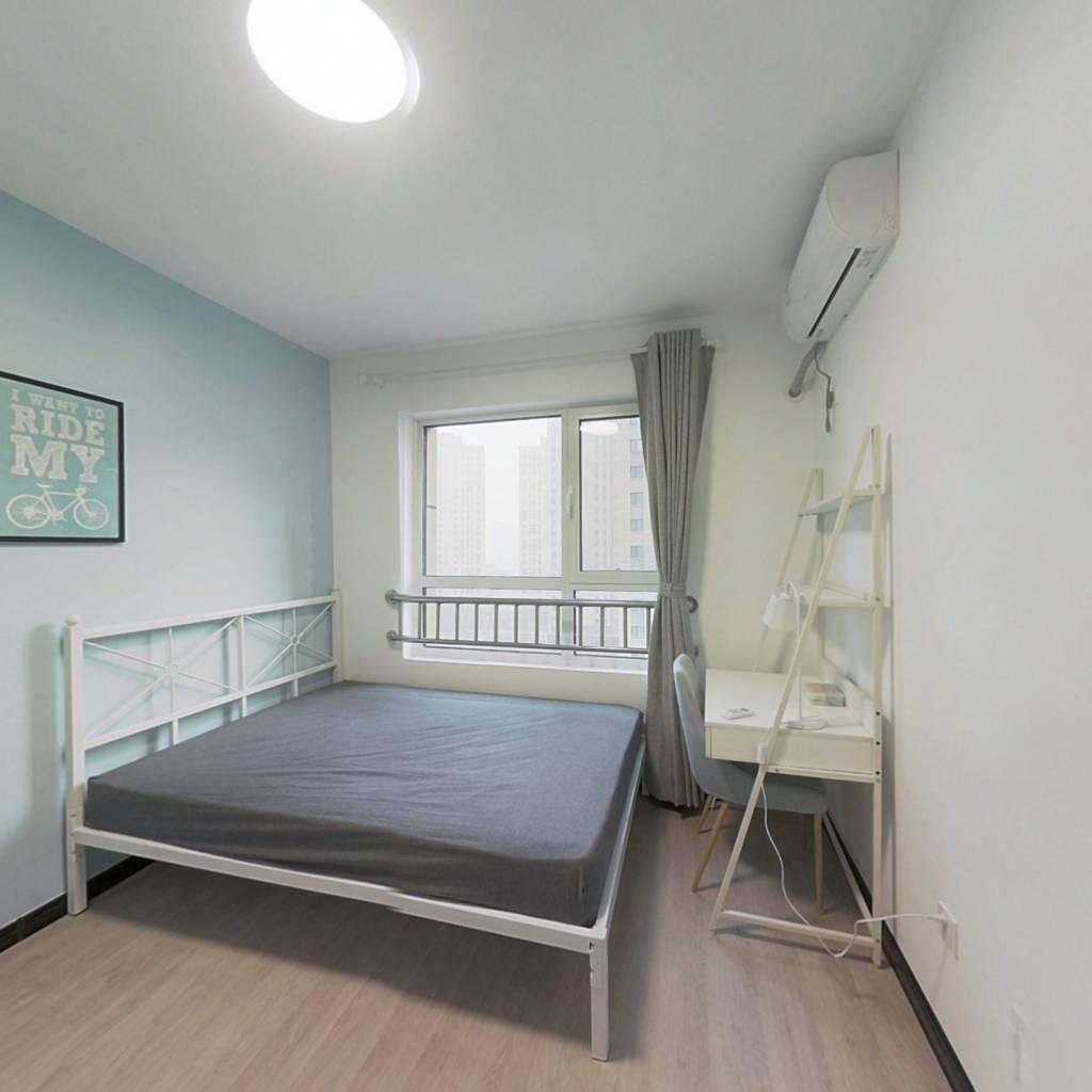 合租·盛庭豪景 3室1厅 南卧室图