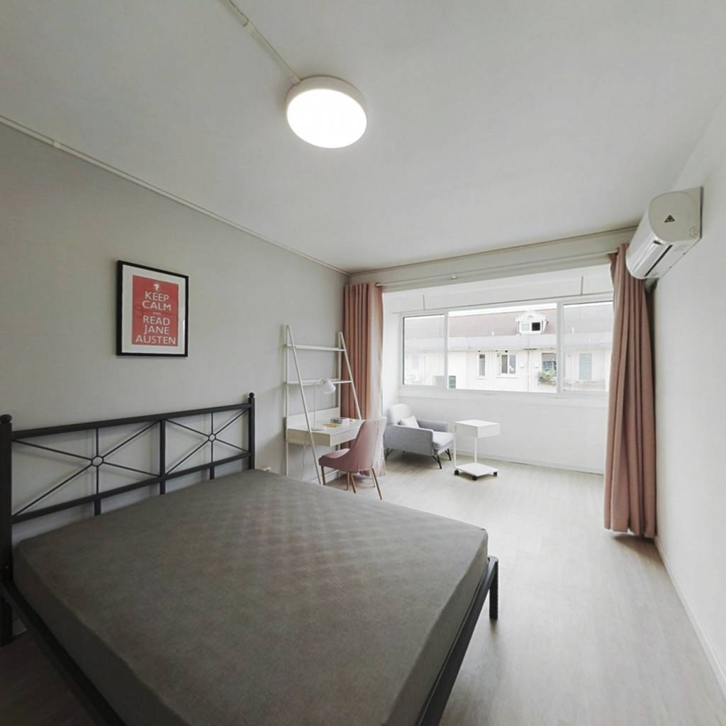 合租·桂平小区 3室1厅 北卧室图