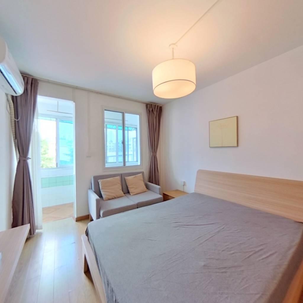 整租·十五家园 1室1厅 南卧室图