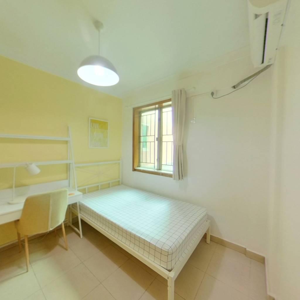 合租·中兆花园 3室1厅 西卧室图