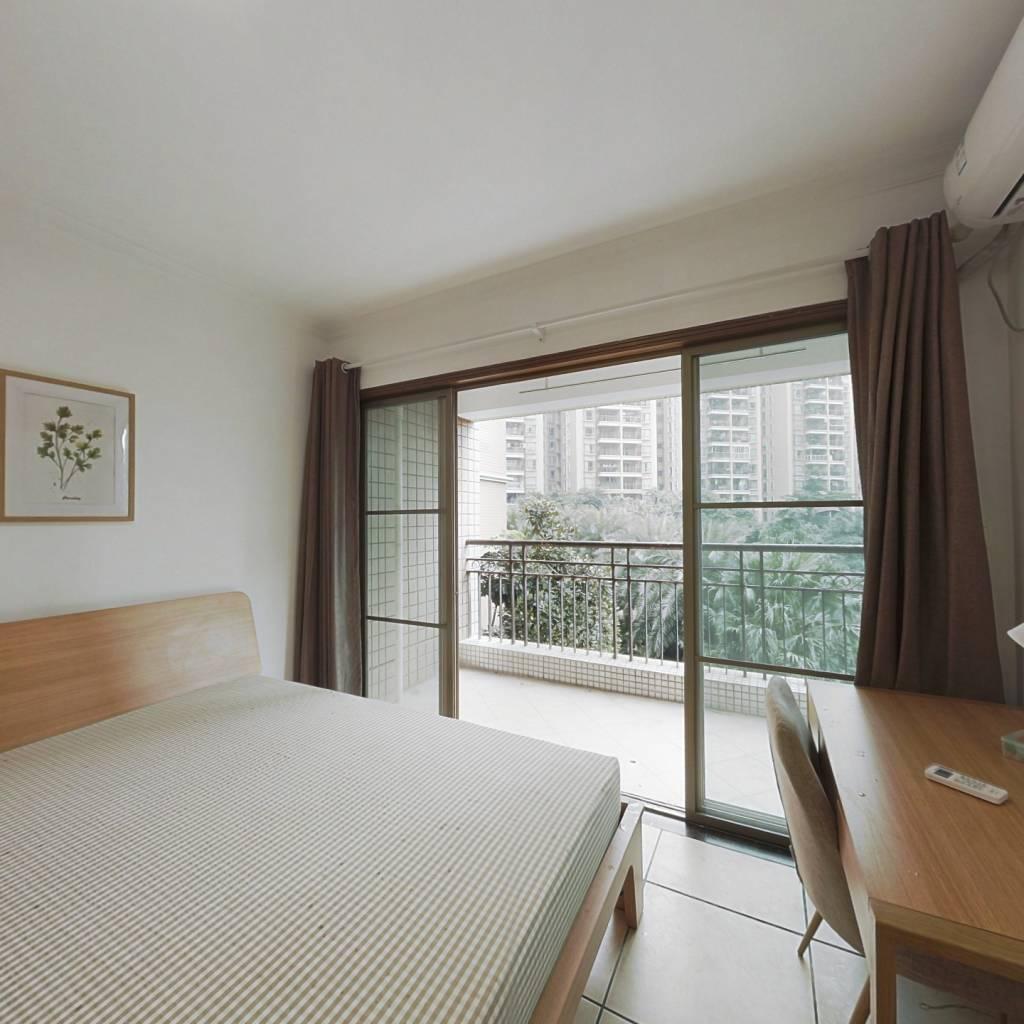 合租·美林海岸花园 3室1厅 南卧室图