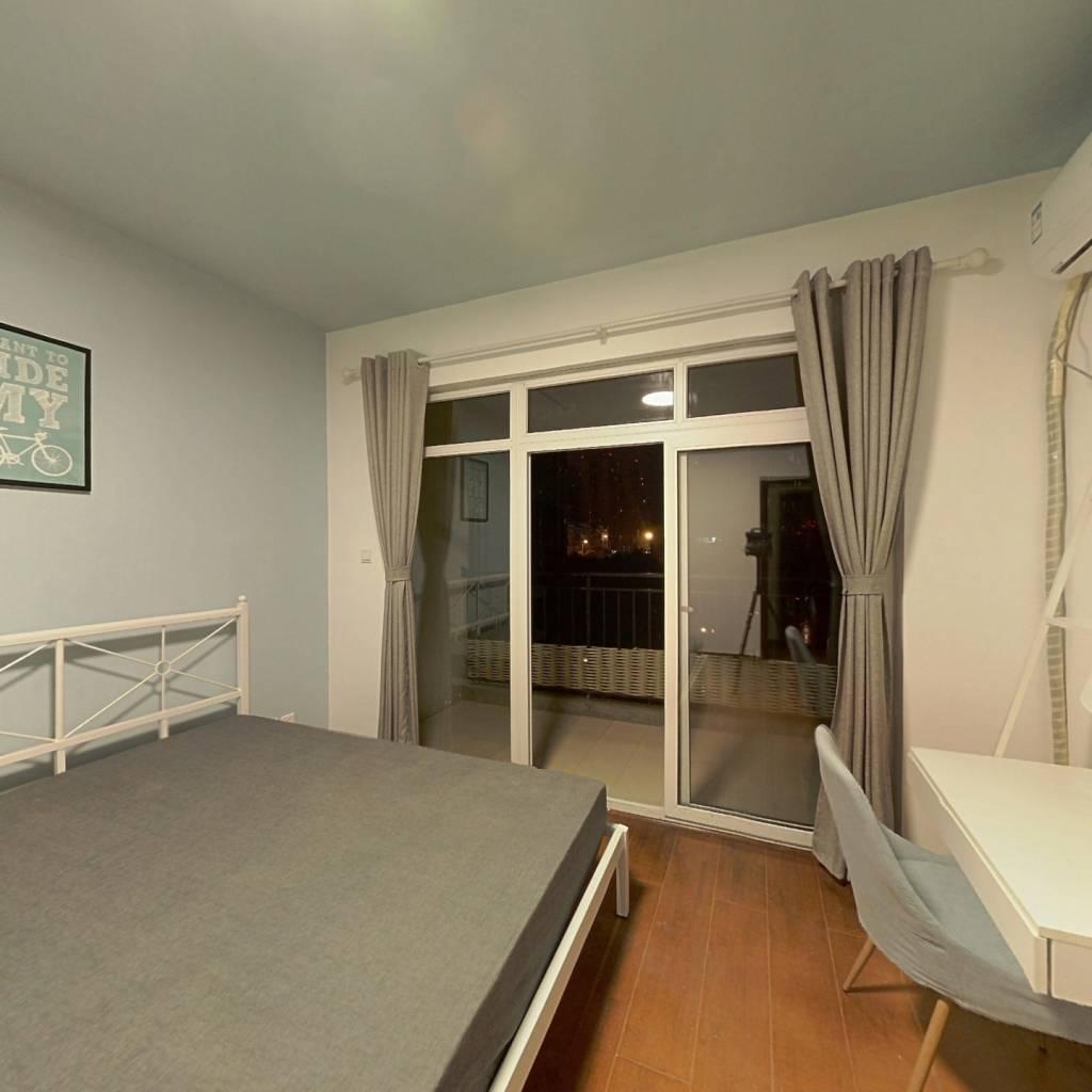 合租·军安卫士花园 3室1厅 东卧室图