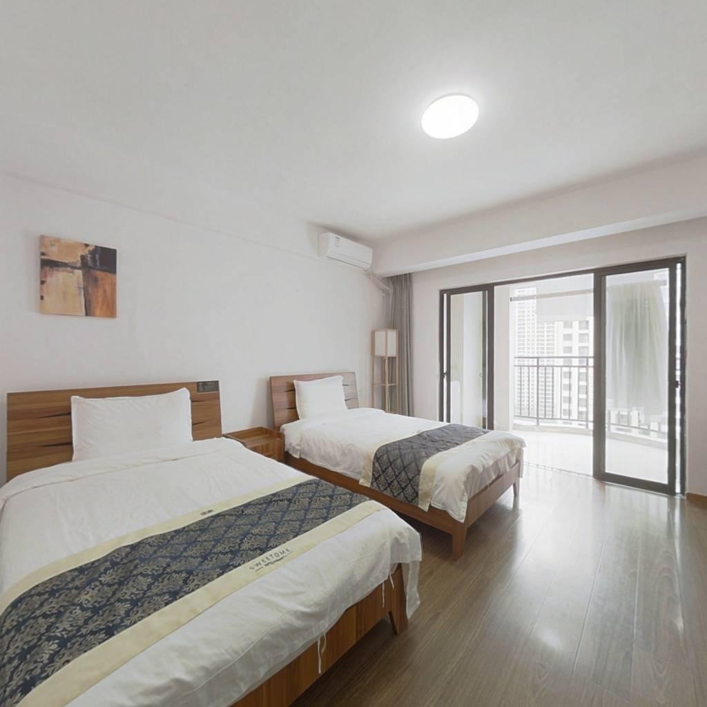 单身公寓 精装修 租金抵月供 目前出租