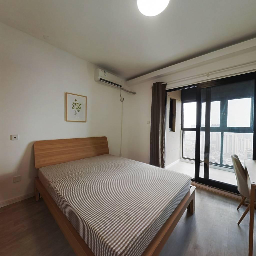 合租·深业滨江半岛 3室1厅 南卧室图