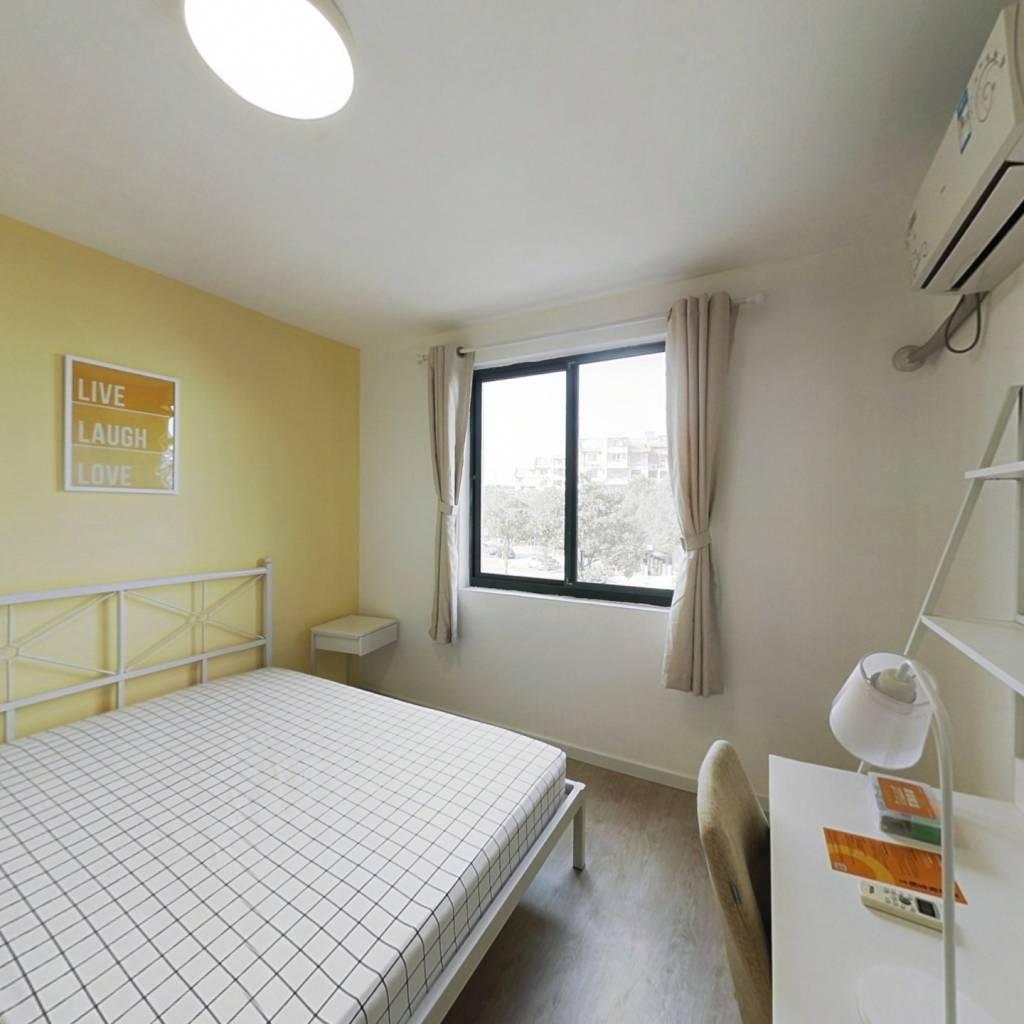 合租·万馨佳园 4室1厅 北卧室图
