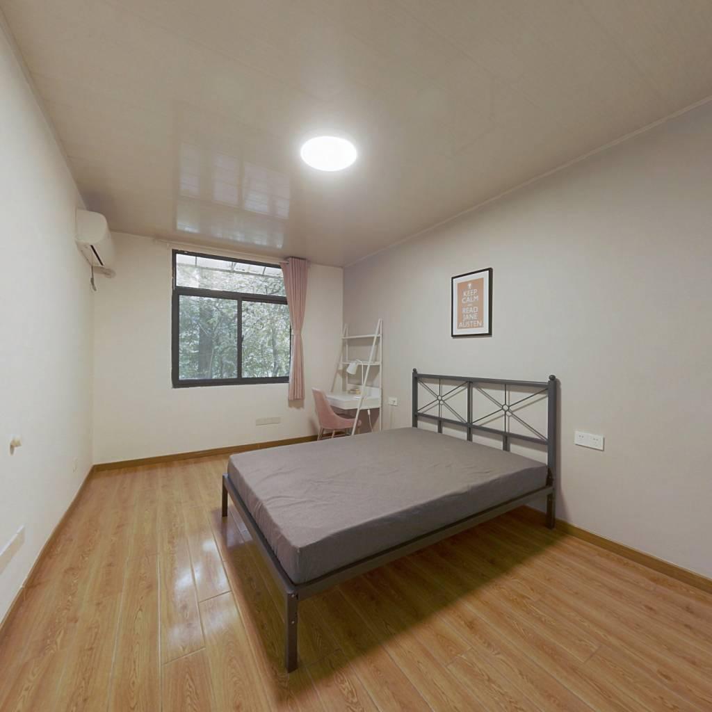 合租·御道街小区 3室1厅 西卧室图
