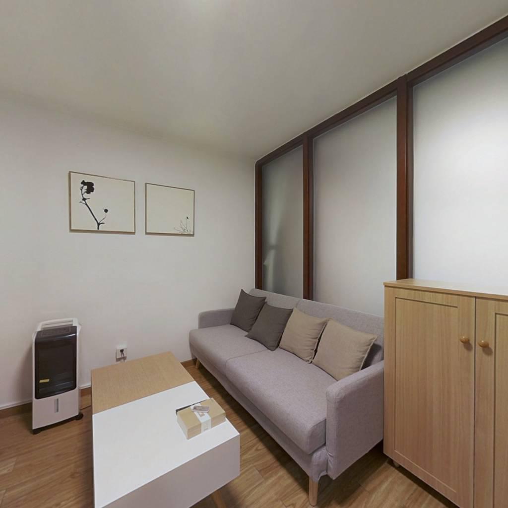 整租·三虎桥 2室1厅 南北卧室图