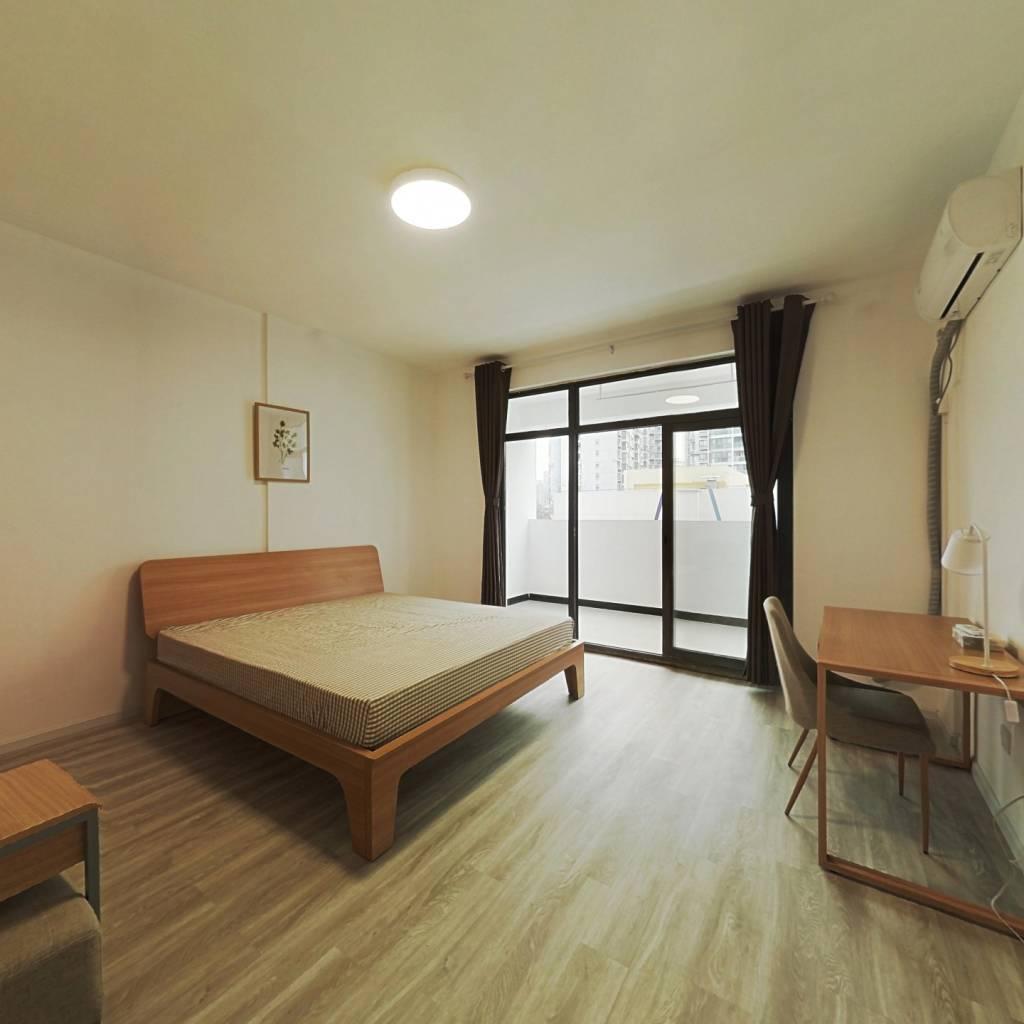合租·金地金沙府邸 4室1厅 南卧室图