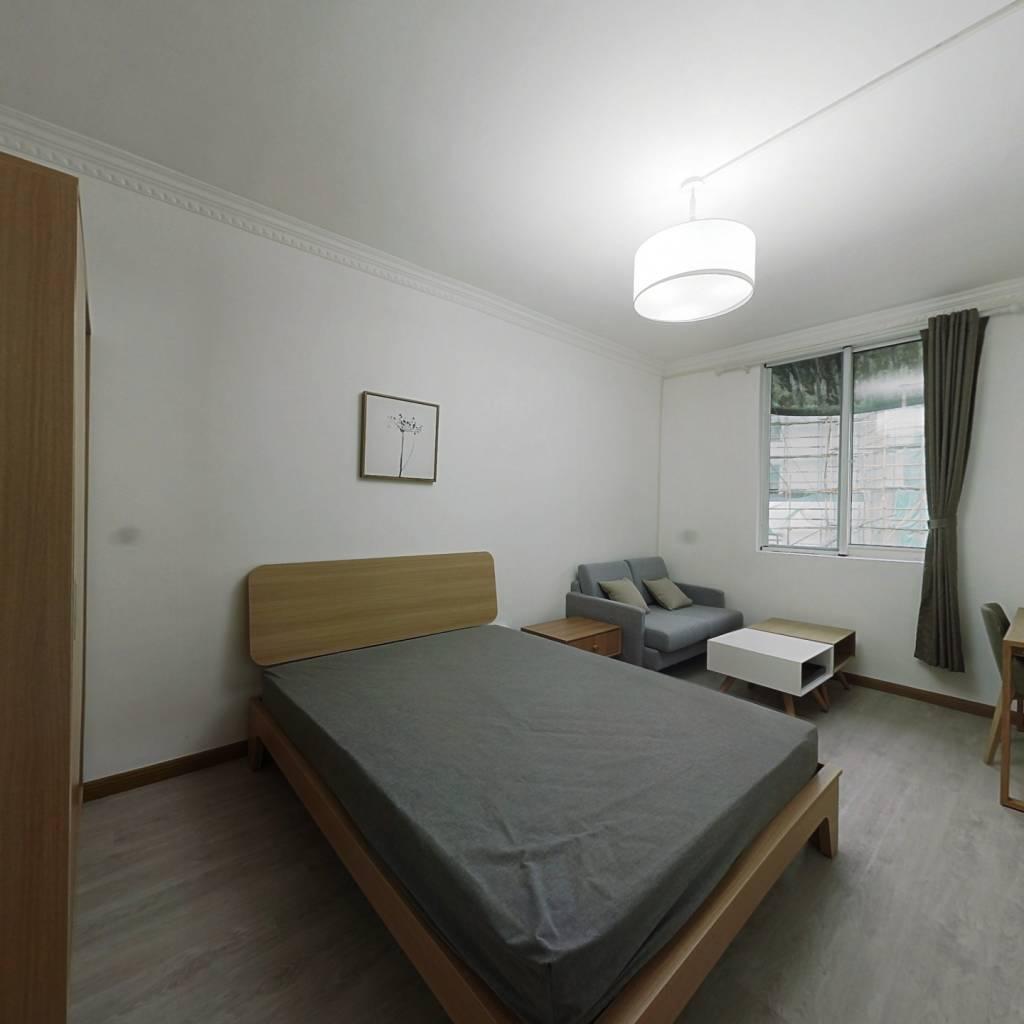 整租·大二小区 1室1厅 南卧室图