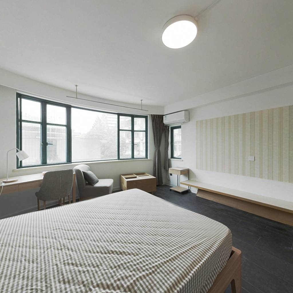 合租·浅水湾城市花园 5室1厅 西卧室图