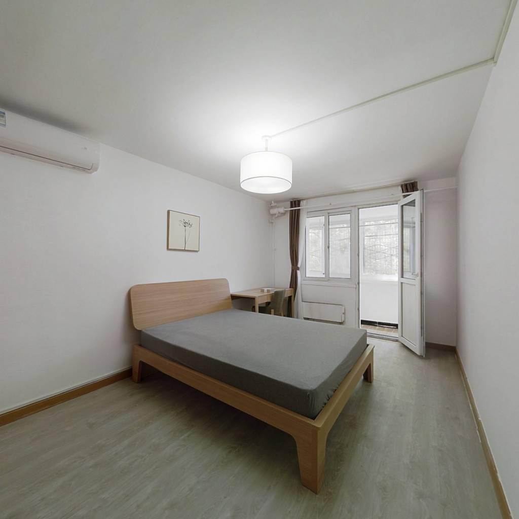 整租·西坝河东里 1室1厅 南卧室图