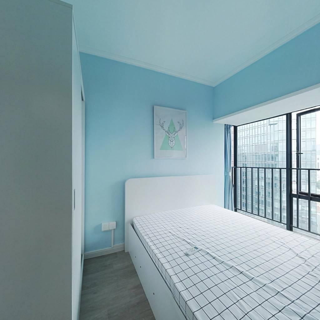整租·桐林公寓 2室2厅 东南卧室图