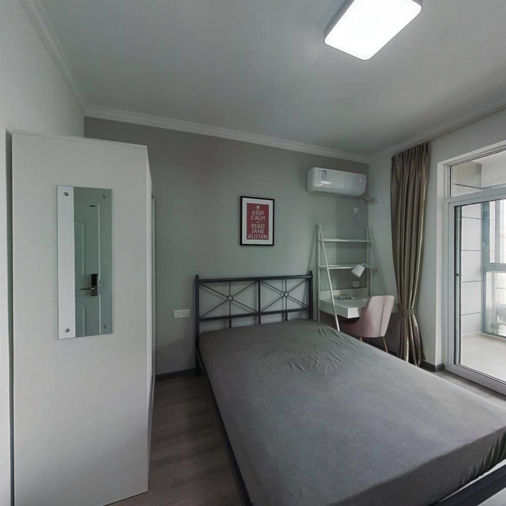 合租·地铁紫阳城 4室1厅 北卧室图