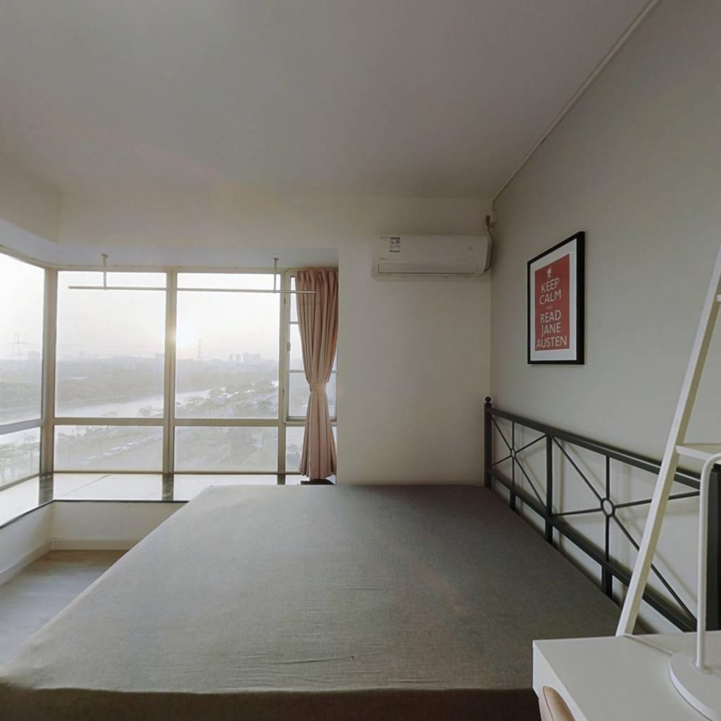 合租·珠江大家庭花园 4室1厅 西卧室图
