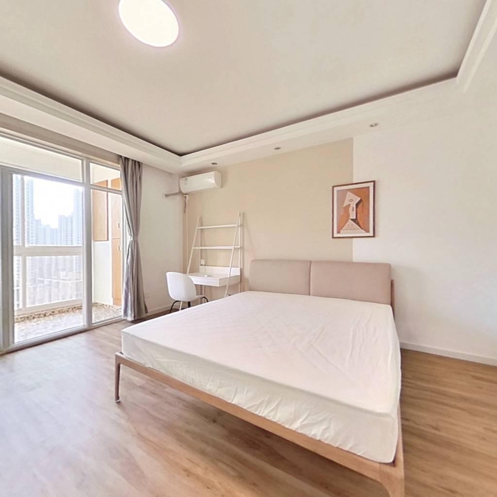 合租·锦绣龙城 4室1厅 南卧室图
