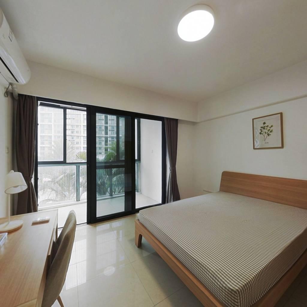 合租·亚运城运动员村二区 4室1厅 东南卧室图
