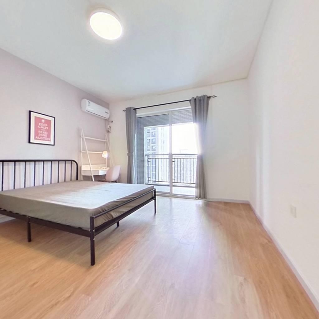 合租·联想江城雅居 4室1厅 北卧室图