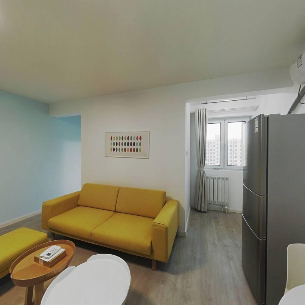 整租·东湾家园 1室1厅 南卧室图
