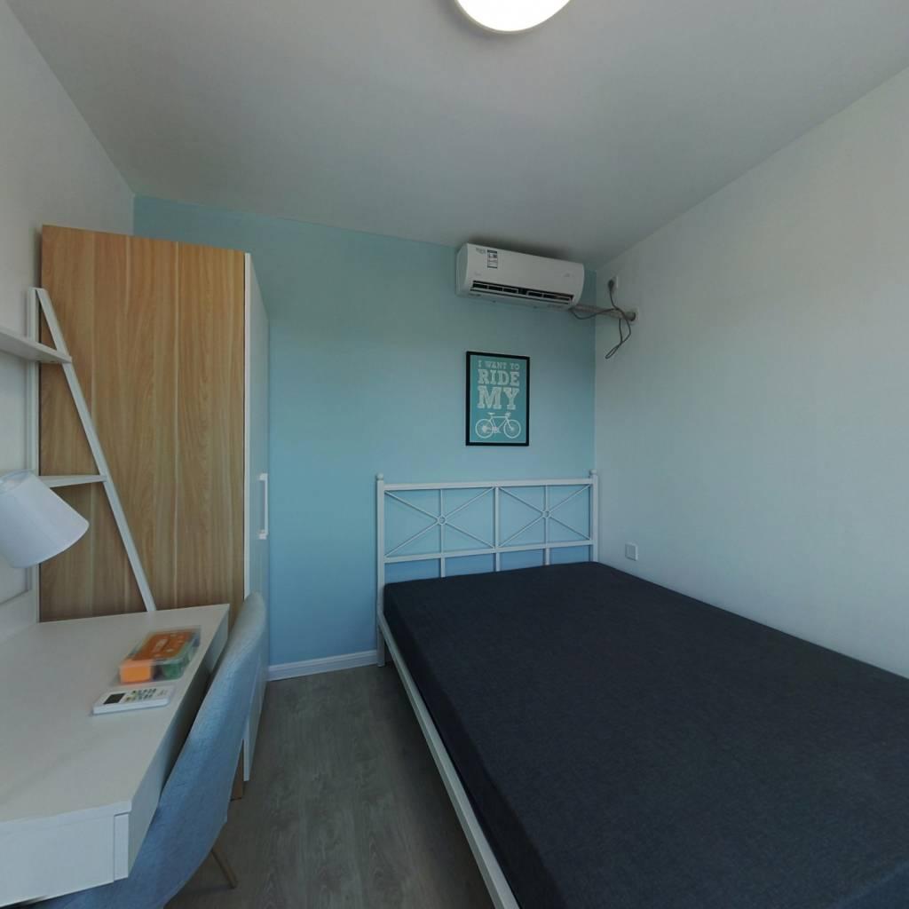 合租·保利首开四季怡园 3室1厅 南卧室图