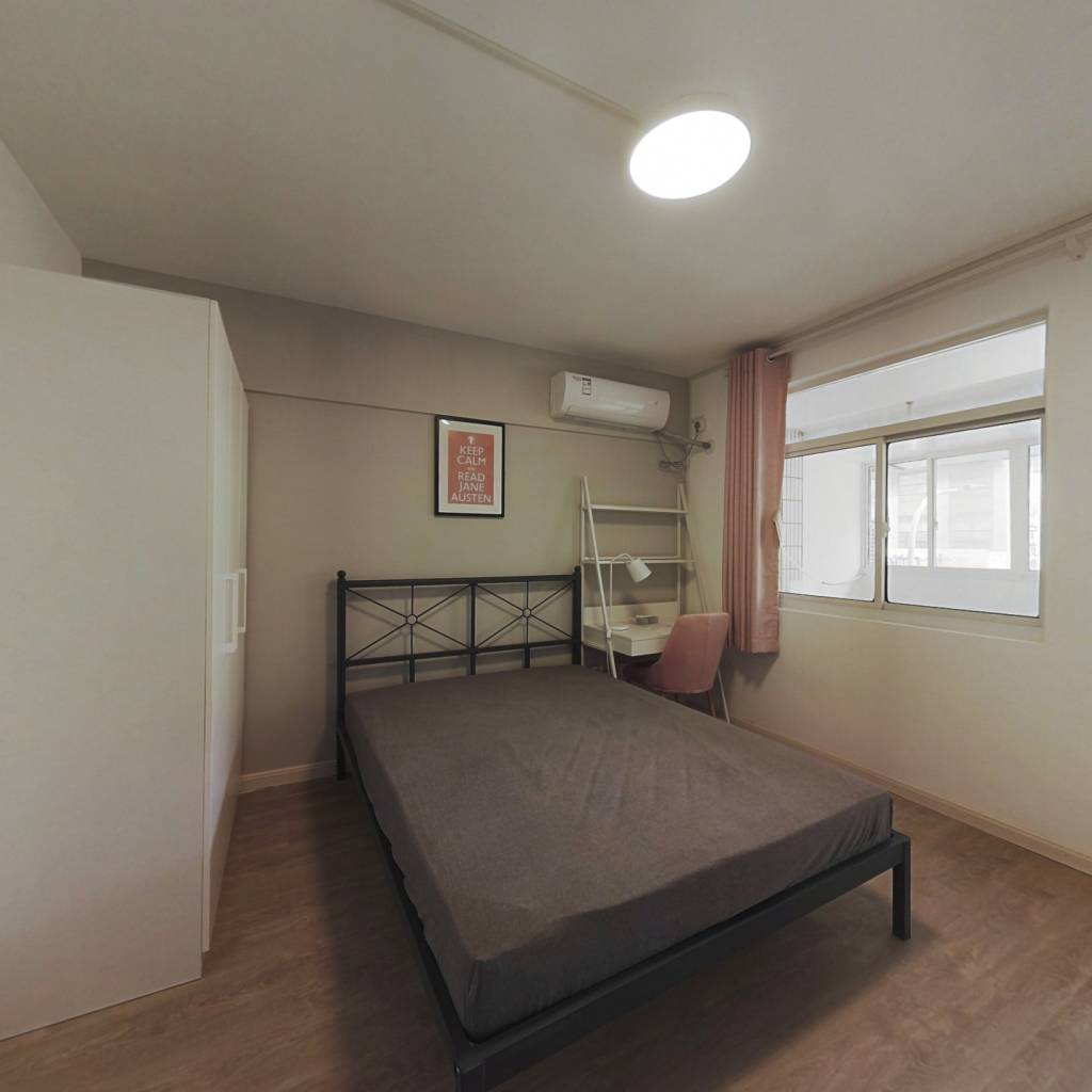 合租·大王府巷 3室1厅 北卧室图