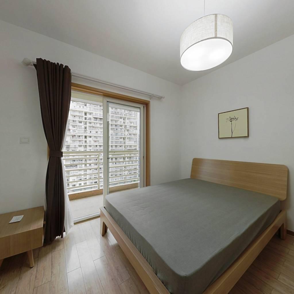 整租·天鹅湖北苑 2室2厅 南卧室图