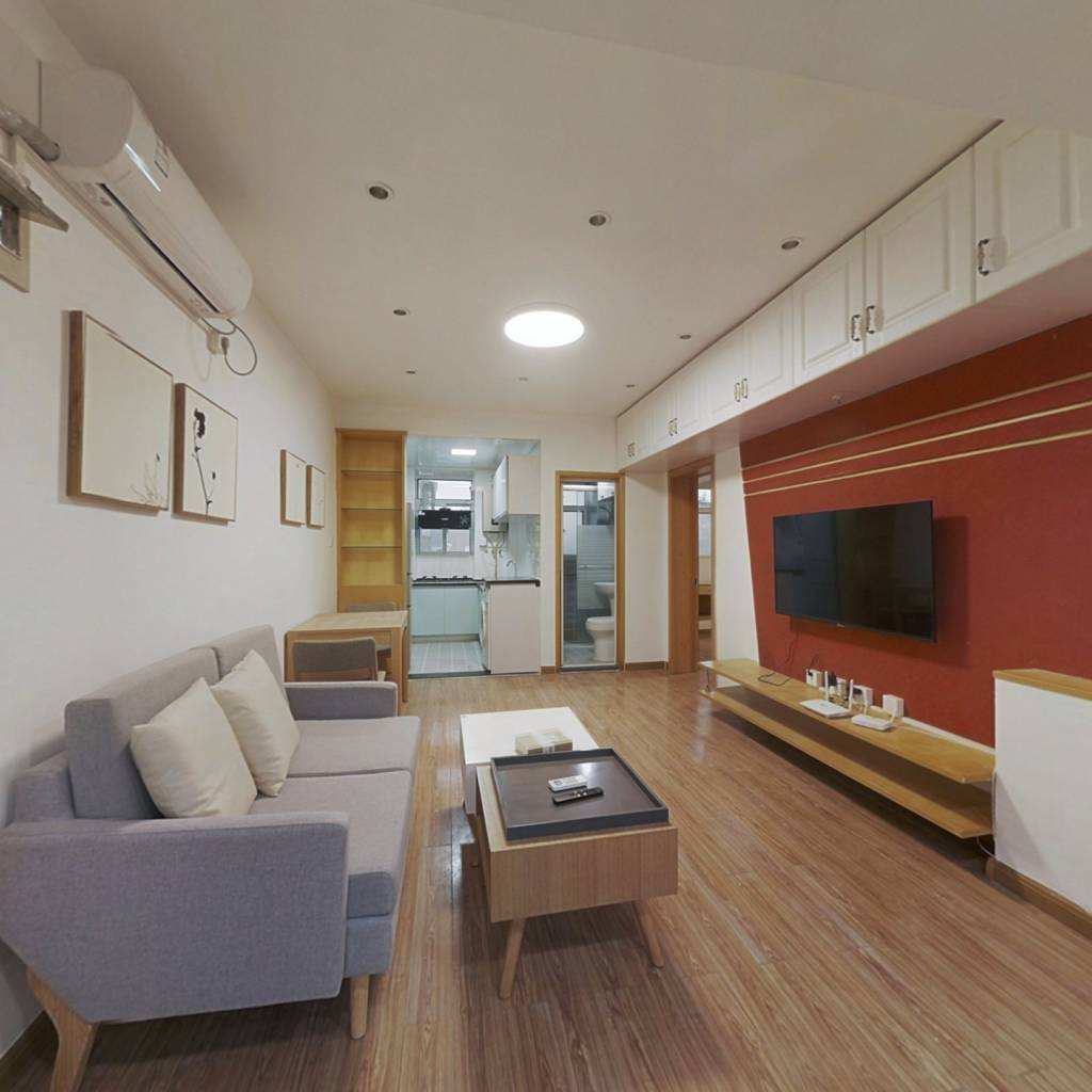 整租·石头城 2室1厅 南北卧室图