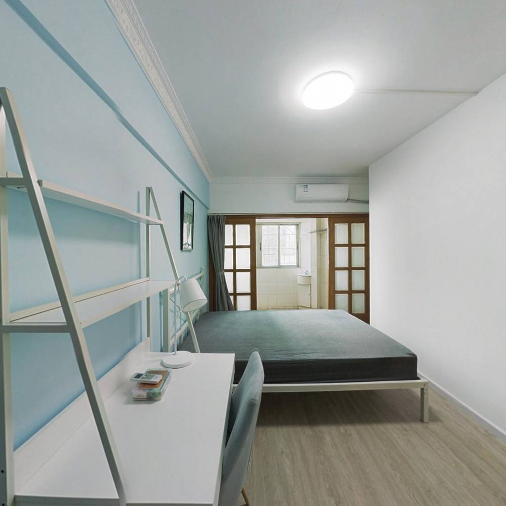 合租·润丰园 4室1厅 北卧室图