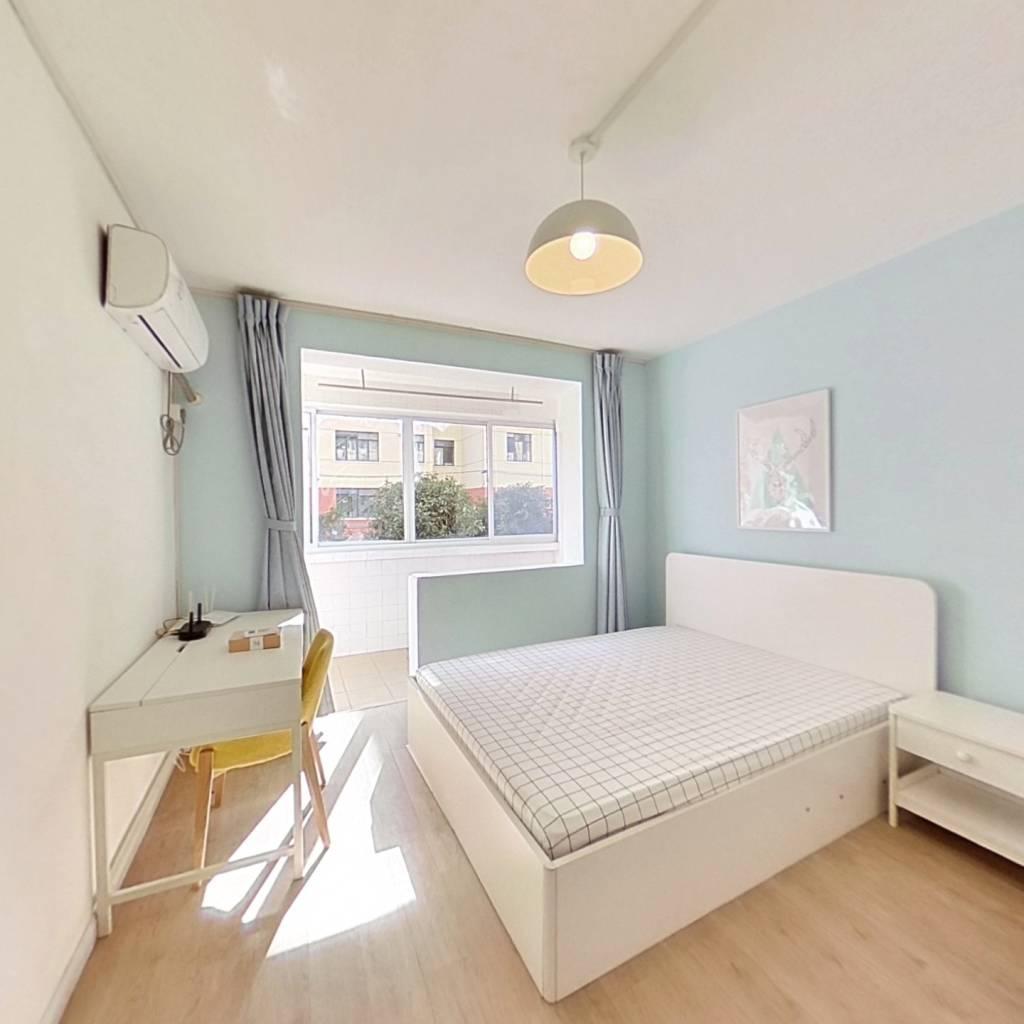 整租·永和二村 2室1厅 南卧室图