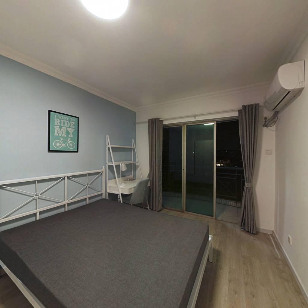 合租·金碧花园第二金碧 3室1厅 西卧室图