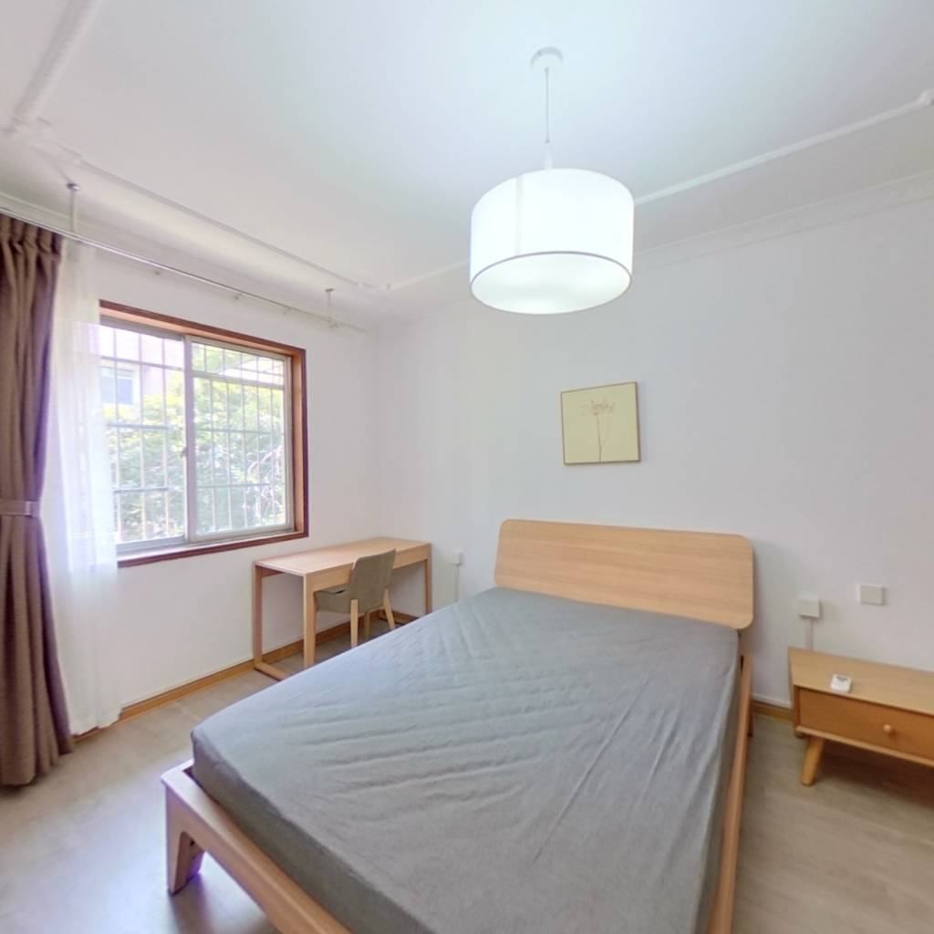 整租·朝晖三区 2室1厅 南卧室图
