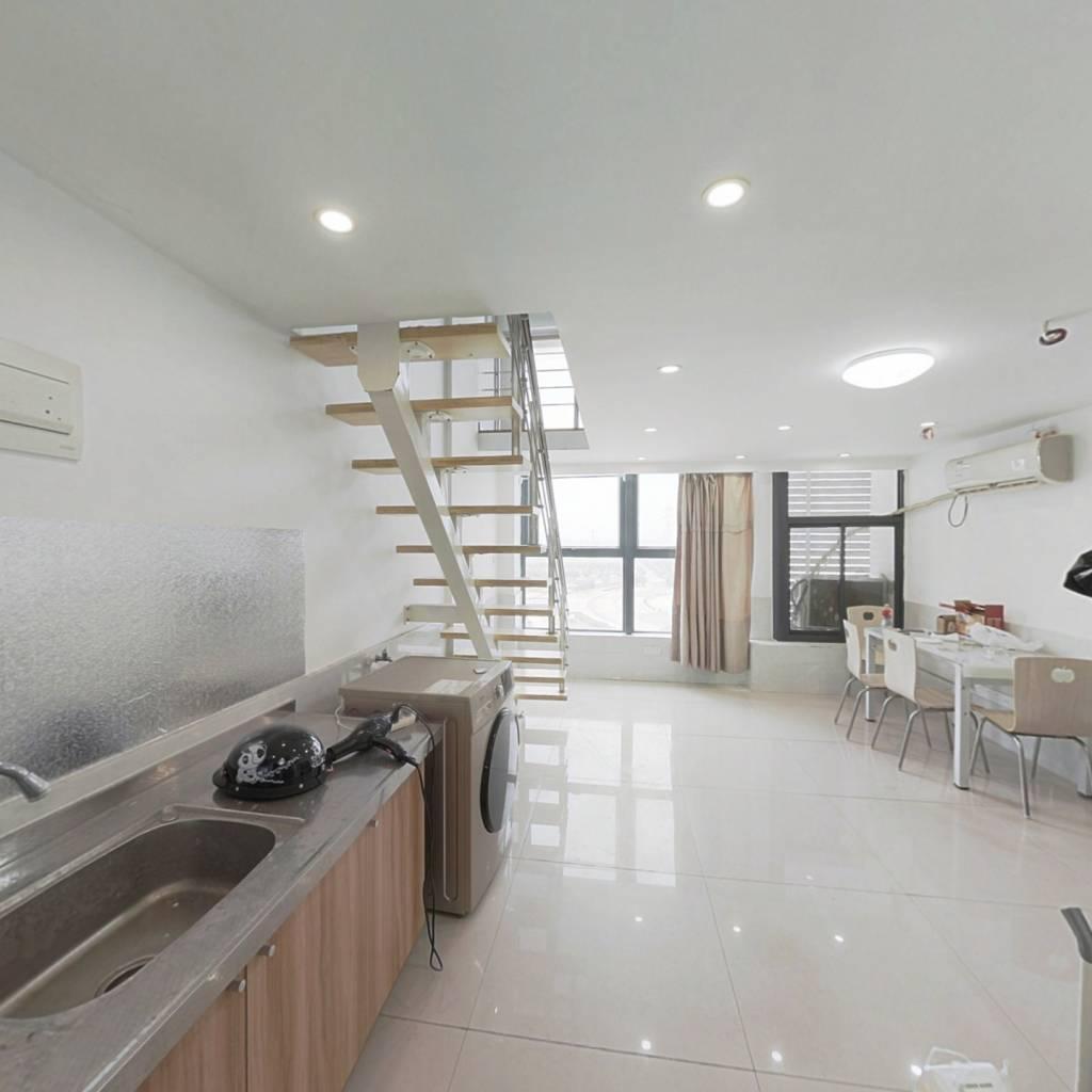 奥凯城市广场挑高4.6米公寓简装出售,价格美丽