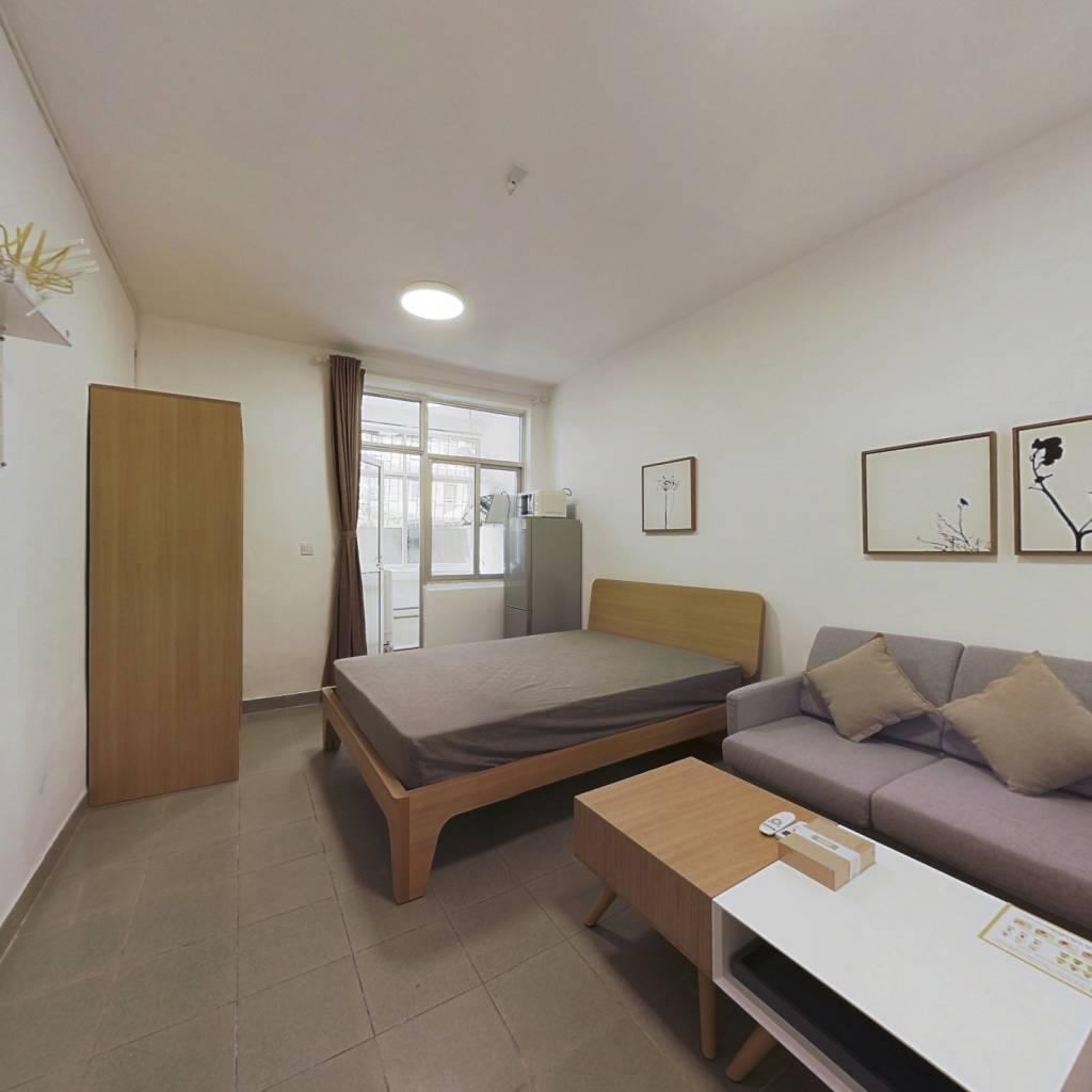 整租·桃苑小区 1室1厅 西南卧室图