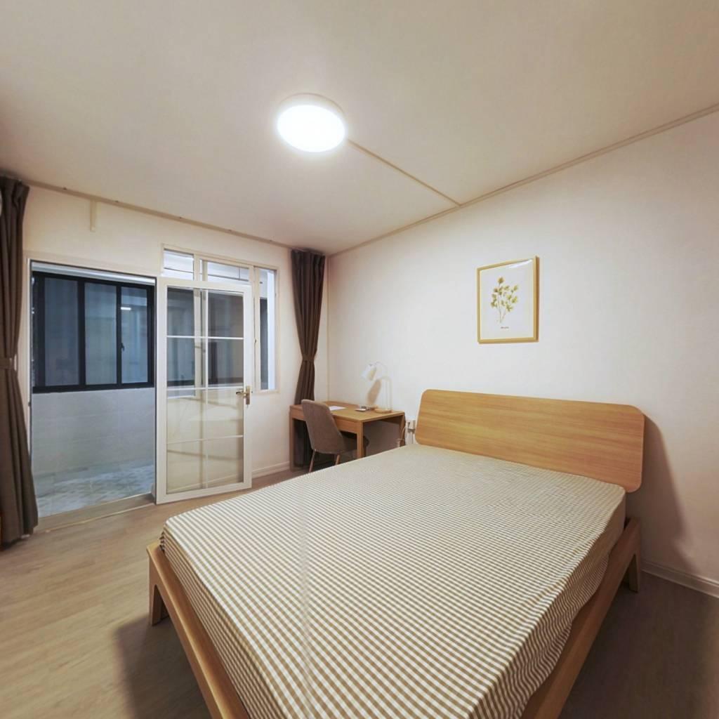 合租·青年路小区 3室1厅 南卧室图
