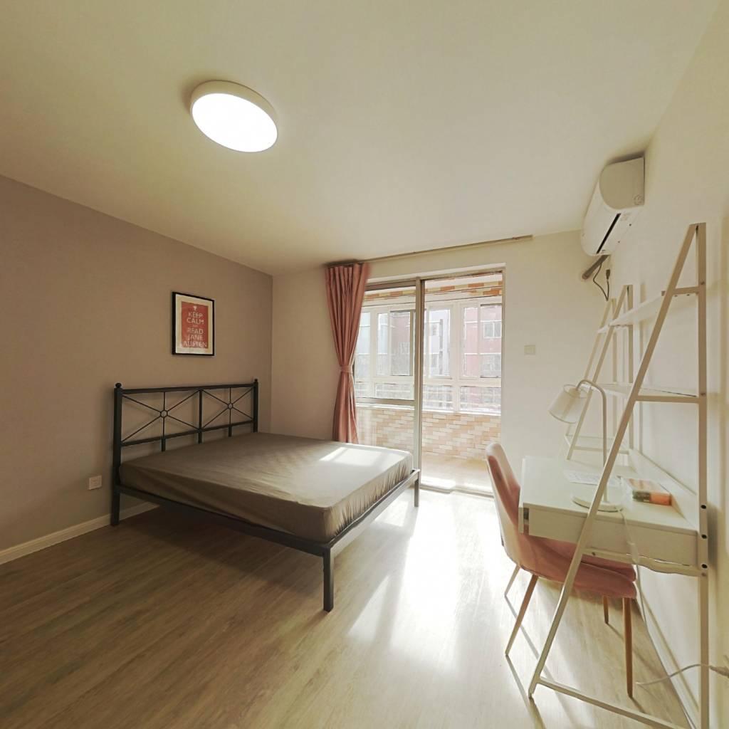 合租·龙禧苑二区 3室1厅 南卧室图