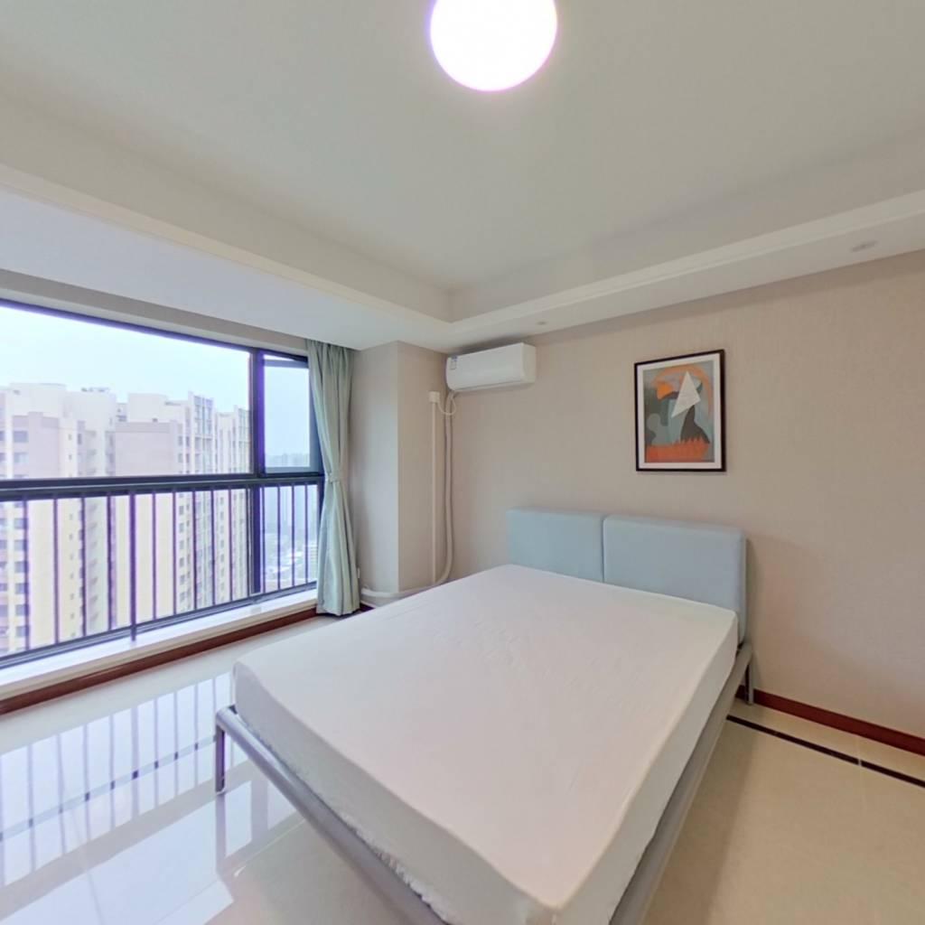 合租·滨江和城 4室1厅 西北卧室图