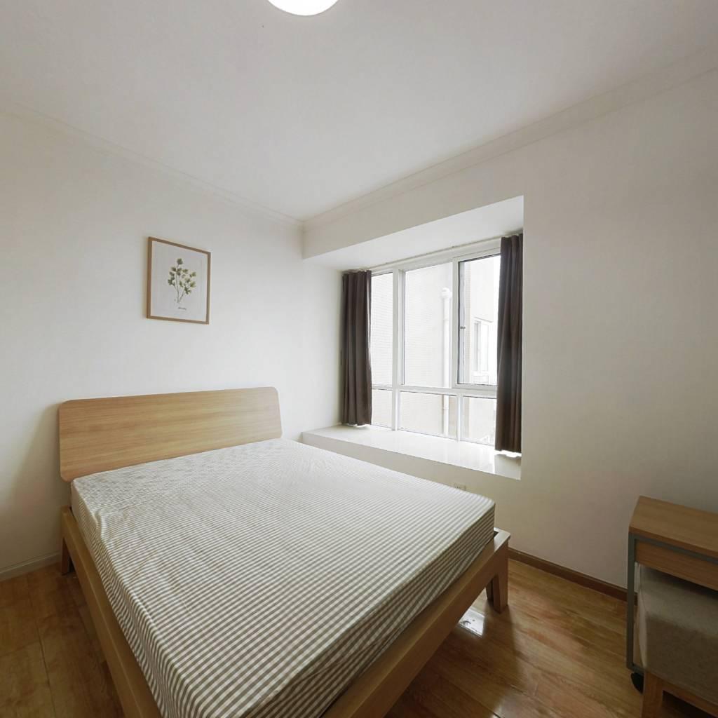 合租·锦尚天华 3室1厅 西南卧室图