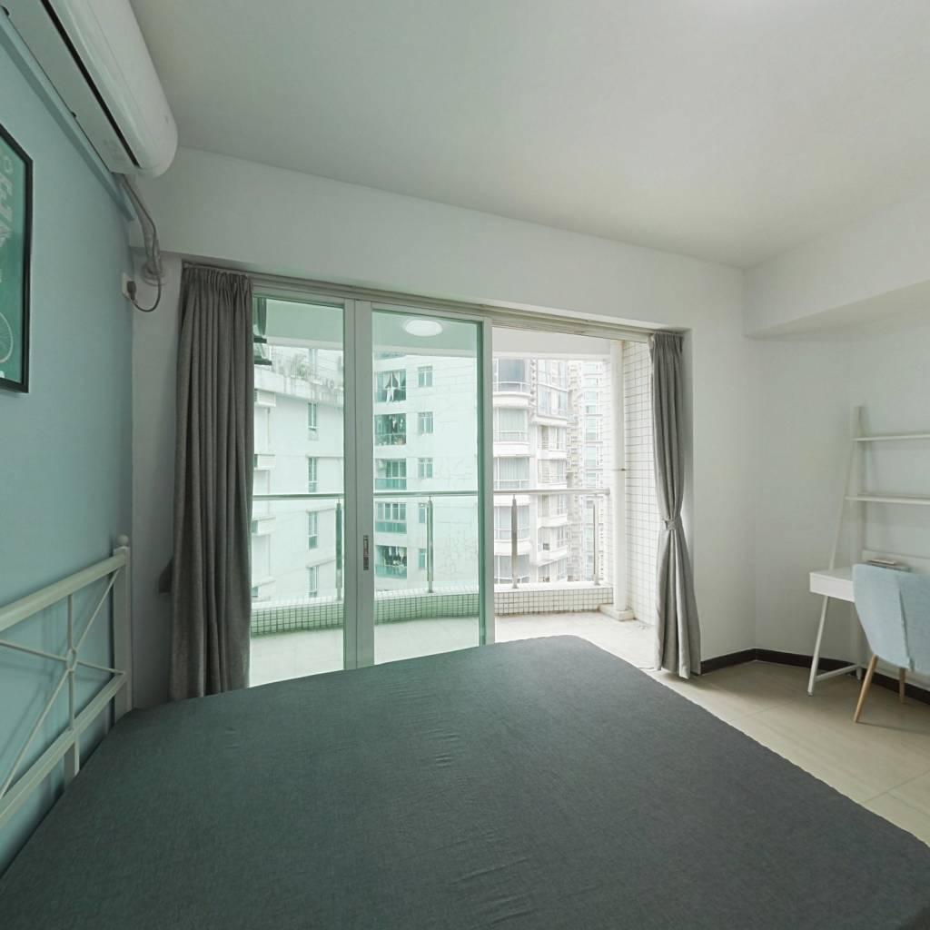 合租·东海嘉园 4室1厅 西卧室图