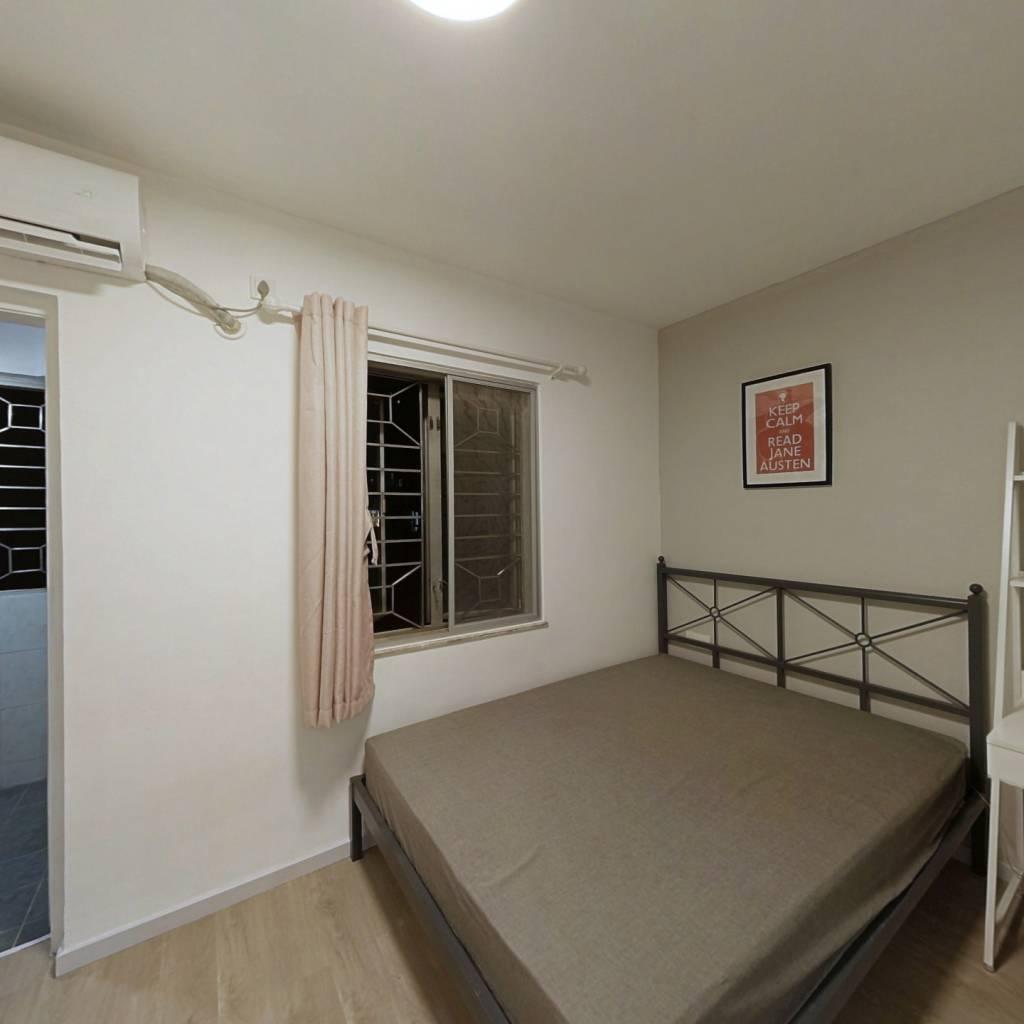 合租·天龙大厦 4室1厅 北卧室图