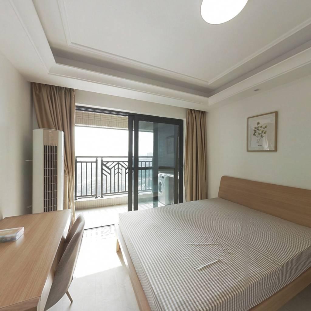合租·中海锦观华庭(D区) 4室1厅 西卧室图
