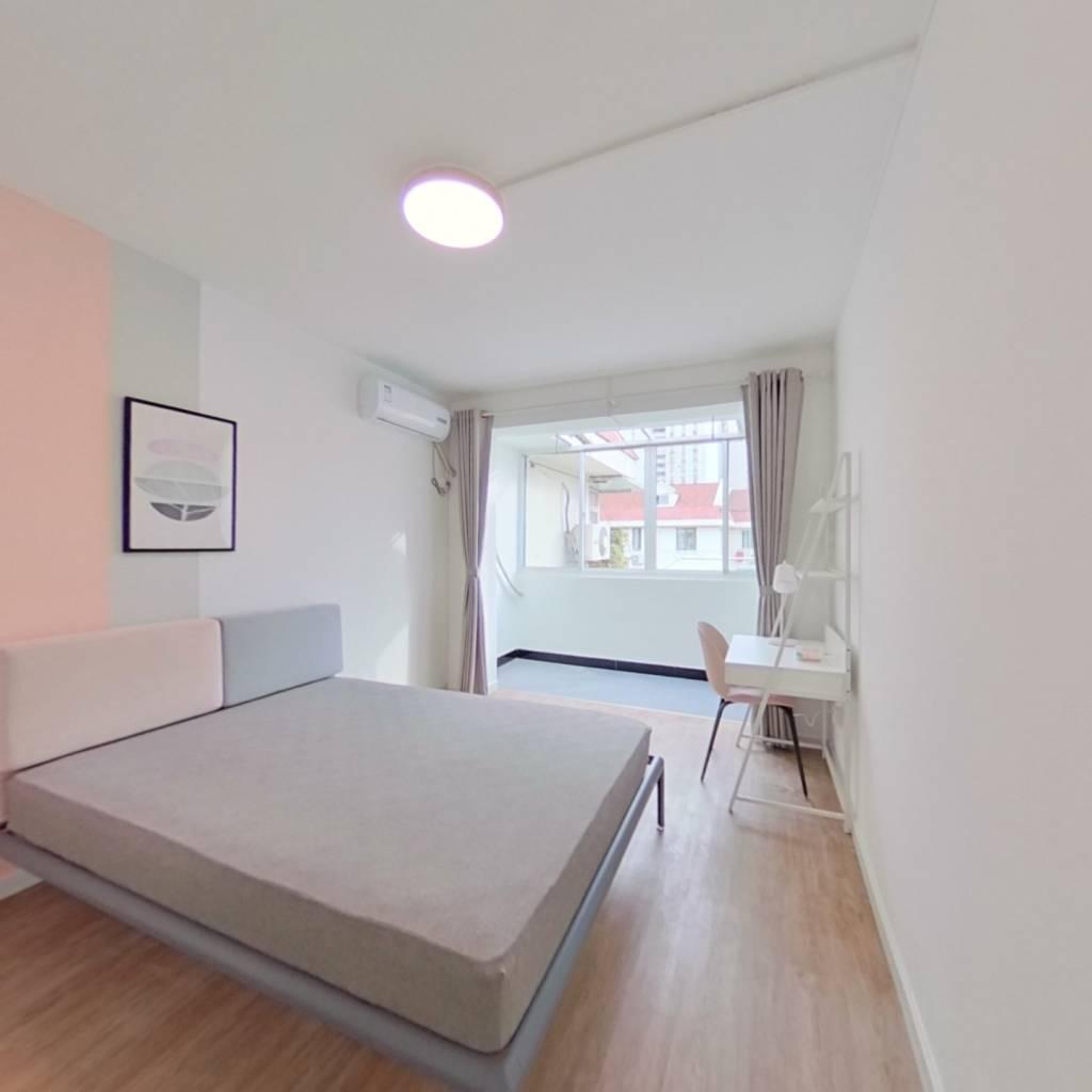 合租·建工天峰公寓 3室1厅 南卧室图