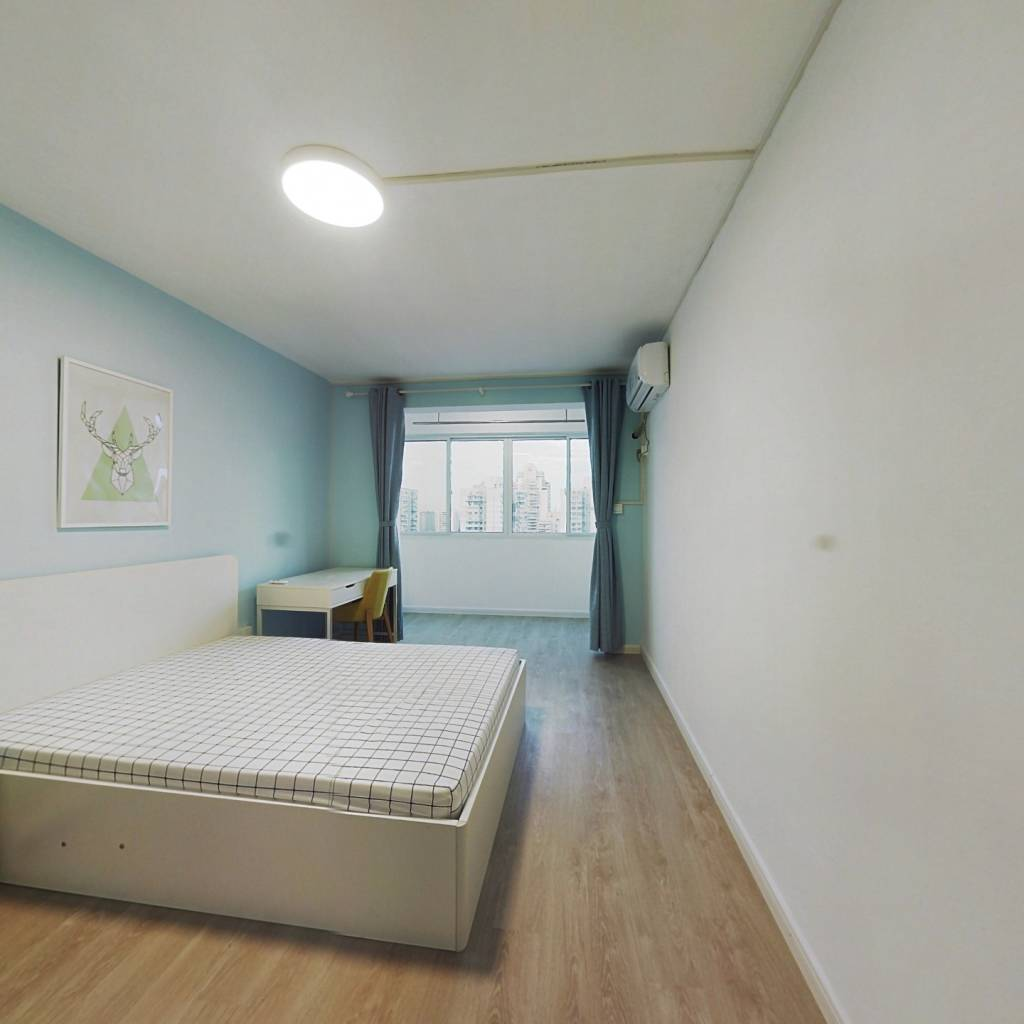 整租·申通公寓 2室1厅 东南卧室图