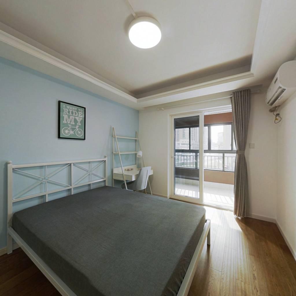 合租·万科金域时代 3室1厅 西卧室图