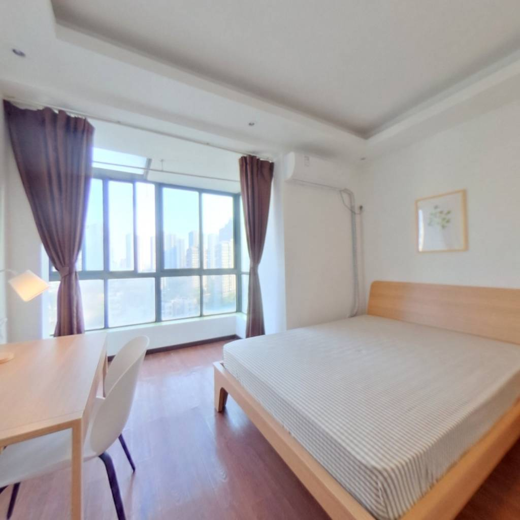合租·清江山水 3室1厅 南卧室图
