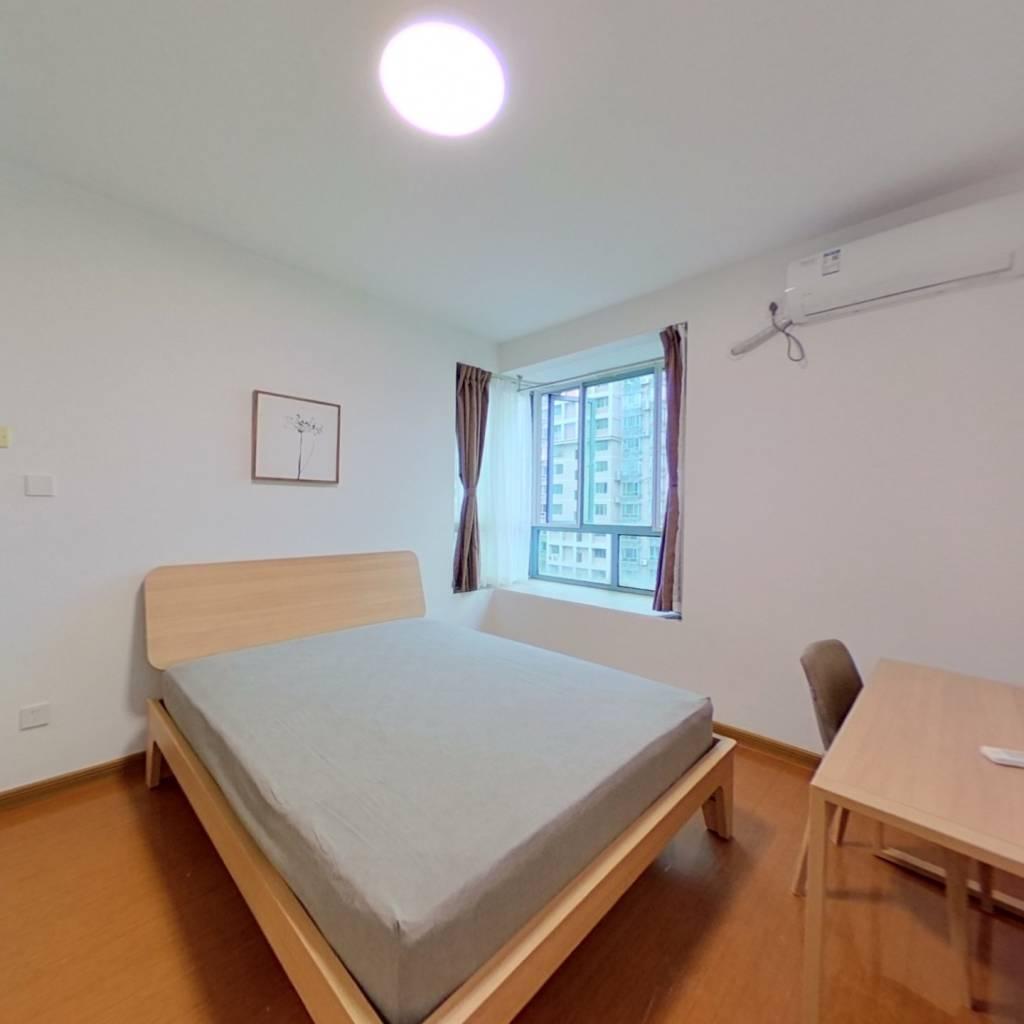 整租·万邦都市花园 1室1厅 南卧室图